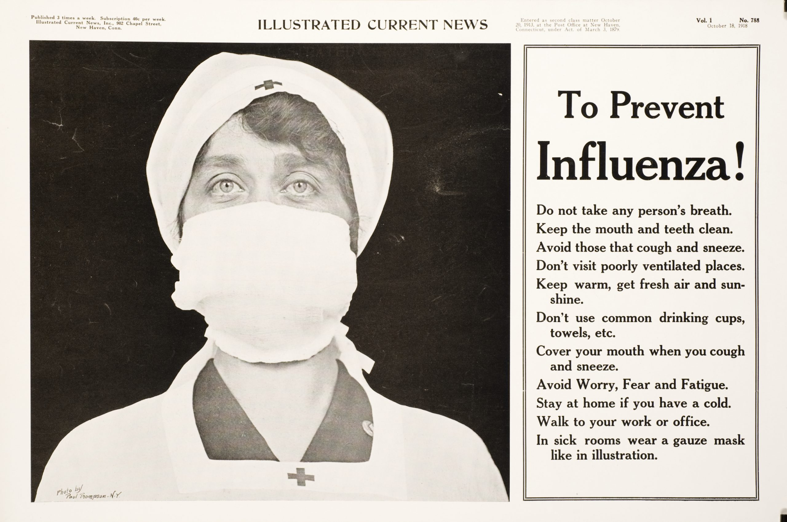 The 1918 flu pandemic and COVID-19: History does not repeat itself, but often rhymes