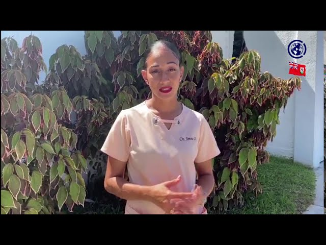 The COVID-19 Journey of Bermuda  – by Jade Robinson with Dr Amne Osseyran.